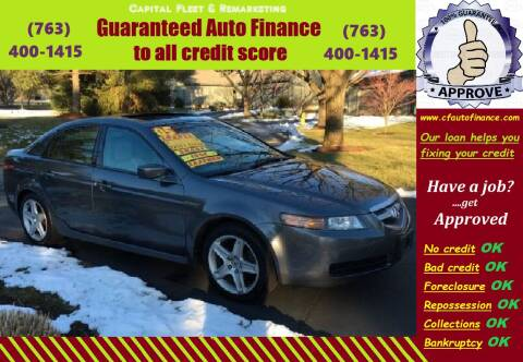 2005 Acura TL for sale at Capital Fleet  & Remarketing  Auto Finance in Columbia Heights MN