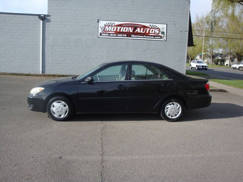 2005 Toyota Camry for sale at Motion Autos in Longview WA