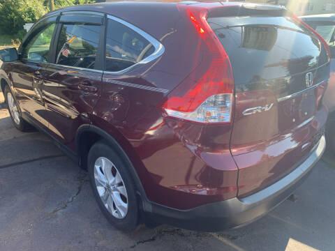 2013 Honda CR-V for sale at CAR CORNER RETAIL SALES in Manchester CT