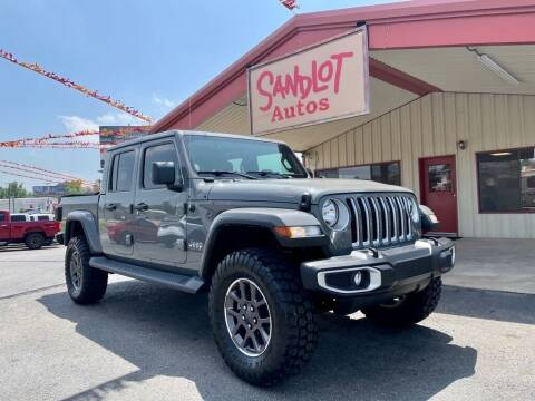 2020 Jeep Gladiator for sale at Sandlot Autos in Tyler TX
