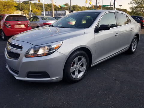 2013 Chevrolet Malibu for sale at Cedar Auto Group LLC in Akron OH