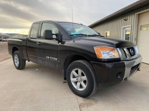 2013 Nissan Titan for sale at Platinum Car Brokers in Spearfish SD