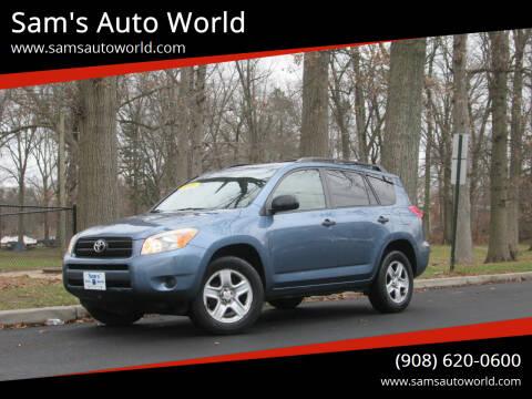 2008 Toyota RAV4 for sale at Sam's Auto World in Roselle NJ