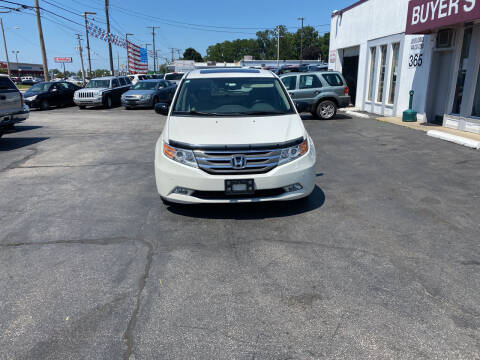 2013 Honda Odyssey for sale at Buyers Choice Auto Sales in Bedford OH