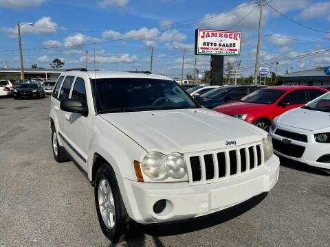 2007 Jeep Grand Cherokee for sale at Jamrock Auto Sales of Panama City in Panama City FL