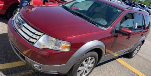 2008 Ford Taurus X for sale at Trocci's Auto Sales in West Pittsburg PA