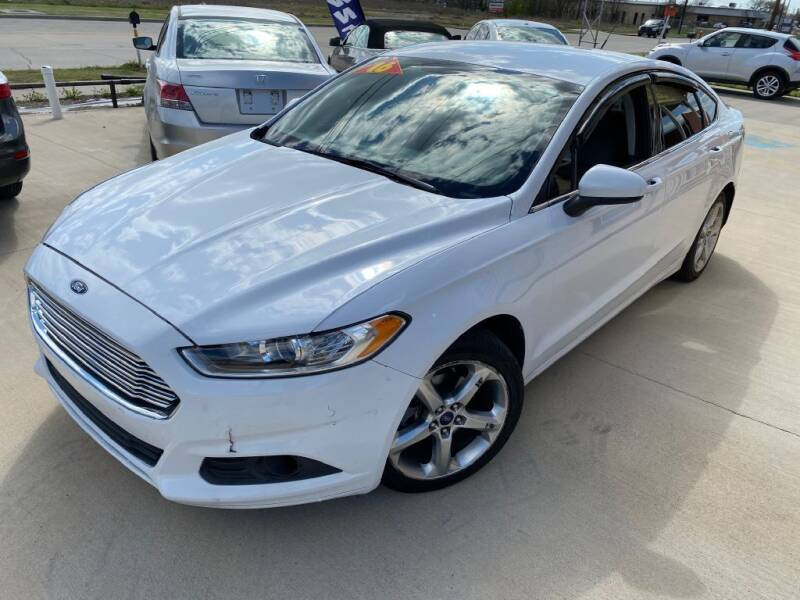 2016 Ford Fusion for sale at Raj Motors Sales in Greenville TX