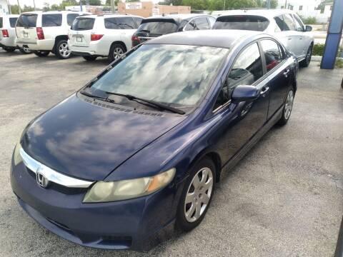 2009 Honda Civic for sale at P S AUTO ENTERPRISES INC in Miramar FL