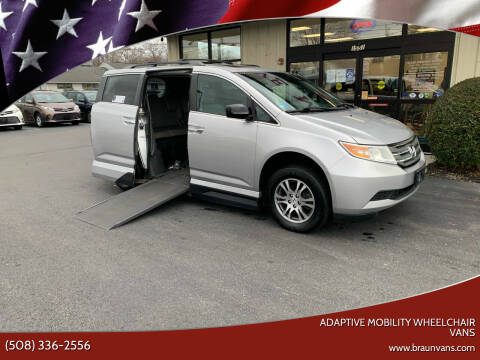 2012 Honda Odyssey for sale at Adaptive Mobility Wheelchair Vans in Seekonk MA