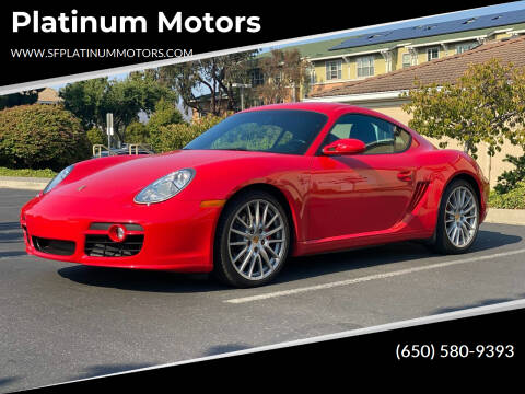 2006 Porsche Cayman for sale at Platinum Motors in San Bruno CA