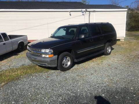 2003 Chevrolet Suburban for sale at Clayton Auto Sales in Winston-Salem NC