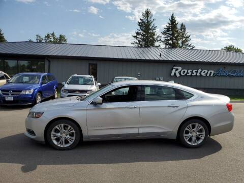 2014 Chevrolet Impala for sale at ROSSTEN AUTO SALES in Grand Forks ND