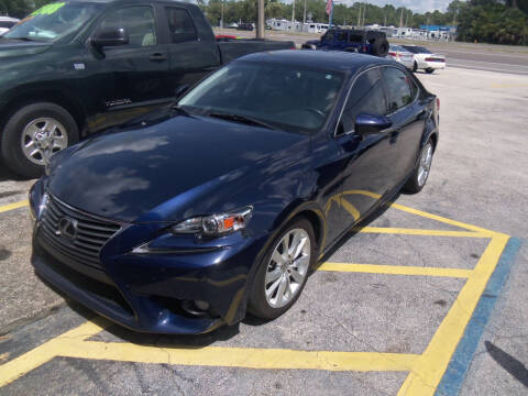2014 Lexus IS 250 for sale at ORANGE PARK AUTO in Jacksonville FL