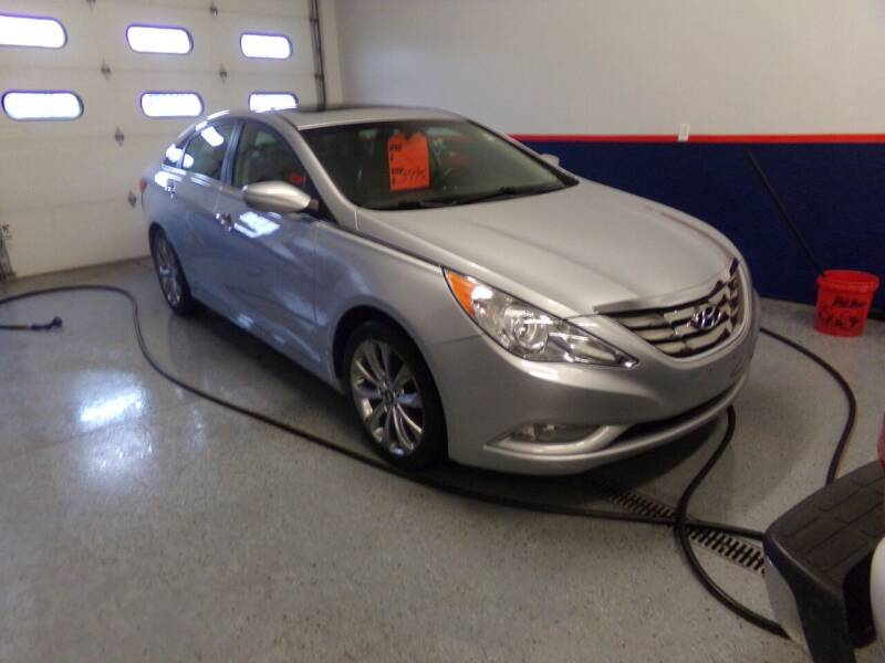 2012 Hyundai Sonata for sale at Pool Auto Sales Inc in Spencerport NY