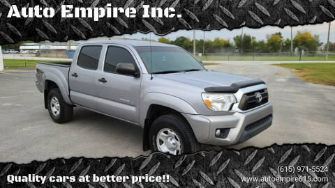 2015 Toyota Tacoma for sale at Auto Empire Inc. in Murfreesboro TN