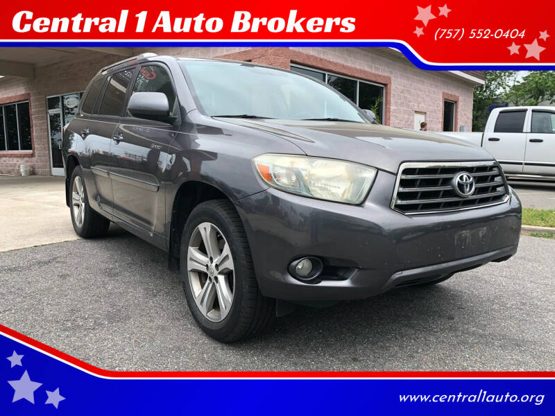 2009 Toyota Highlander for sale at Central 1 Auto Brokers in Virginia Beach VA