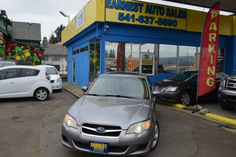 2009 Subaru Legacy for sale at Earnest Auto Sales in Roseburg OR