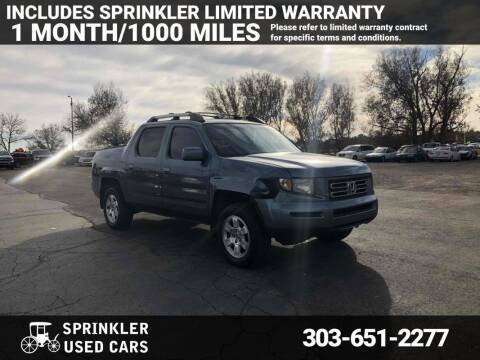 2008 Honda Ridgeline for sale at Sprinkler Used Cars in Longmont CO