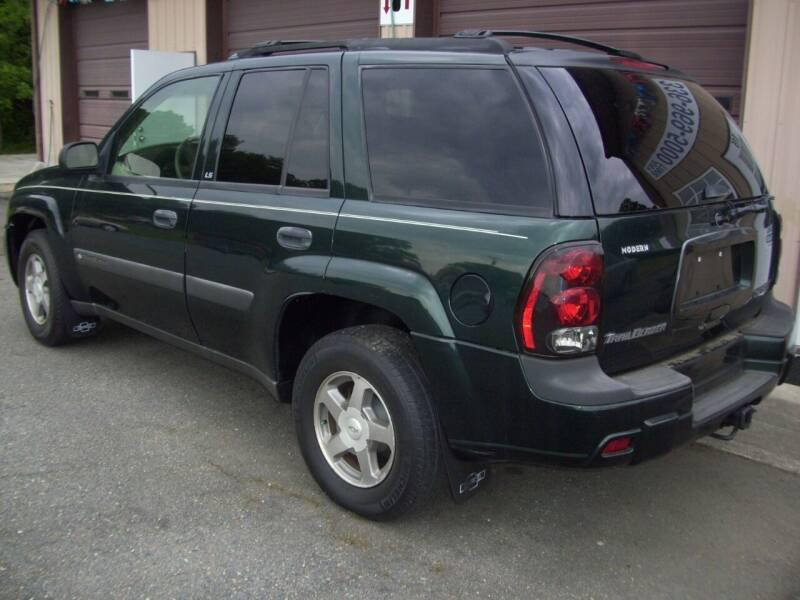 2004 Chevrolet TrailBlazer for sale at Horton's Auto Sales in Rural Hall NC