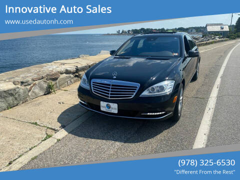 2010 Mercedes-Benz S-Class for sale at Innovative Auto Sales in North Hampton NH