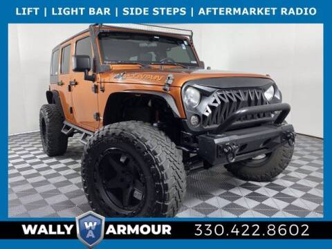 2010 Jeep Wrangler Unlimited for sale at Wally Armour Chrysler Dodge Jeep Ram in Alliance OH