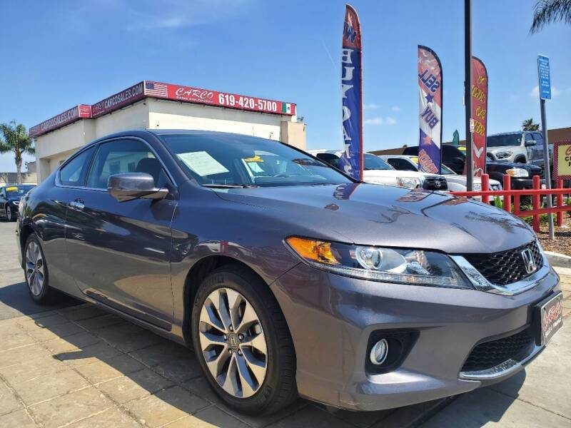 2014 Honda Accord for sale at CARCO SALES & FINANCE - CARCO OF POWAY in Poway CA