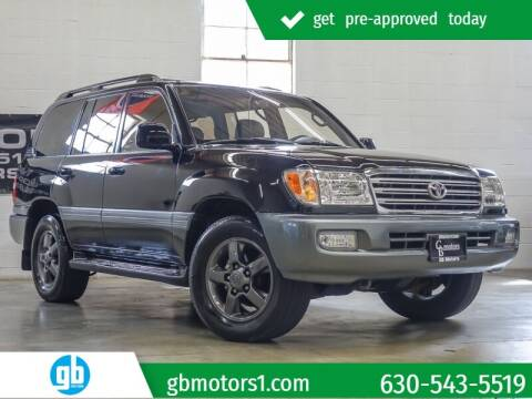 2003 Toyota Land Cruiser for sale at GB Motors in Addison IL