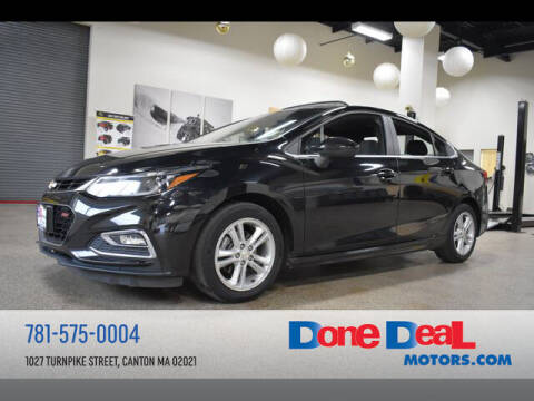 2017 Chevrolet Cruze for sale at DONE DEAL MOTORS in Canton MA