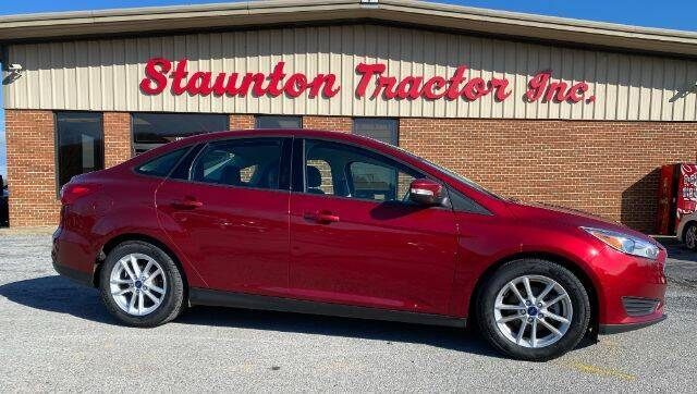 2016 Ford Focus for sale at STAUNTON TRACTOR INC in Staunton VA