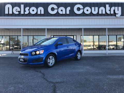 2016 Chevrolet Sonic for sale at Nelson Car Country in Bixby OK