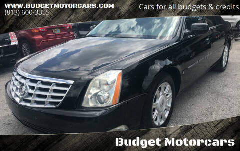 2009 Cadillac DTS for sale at Budget Motorcars in Tampa FL