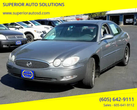 2007 Buick LaCrosse for sale at SUPERIOR AUTO SOLUTIONS in Spearfish SD