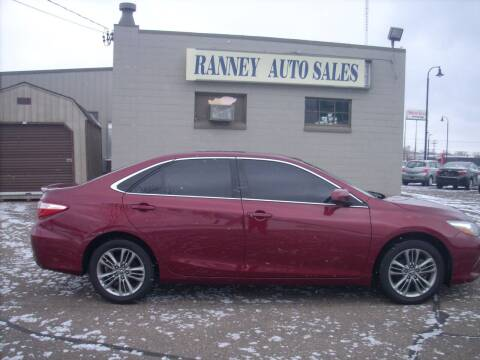 2017 Toyota Camry for sale at Ranney's Auto Sales in Eau Claire WI