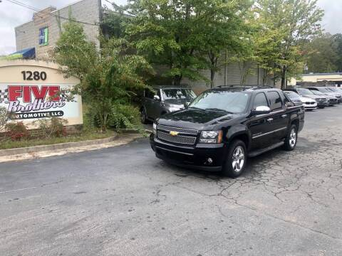 2013 Chevrolet Avalanche for sale at Five Brothers Auto Sales in Roswell GA