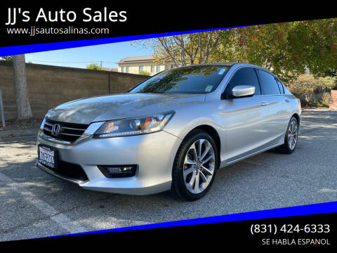 2015 Honda Accord for sale at JJ's Auto Sales in Salinas CA