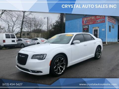 2015 Chrysler 300 for sale at Crystal Auto Sales Inc in Nashville TN