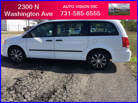 2015 Dodge Grand Caravan for sale at Auto Vision Inc. in Brownsville TN