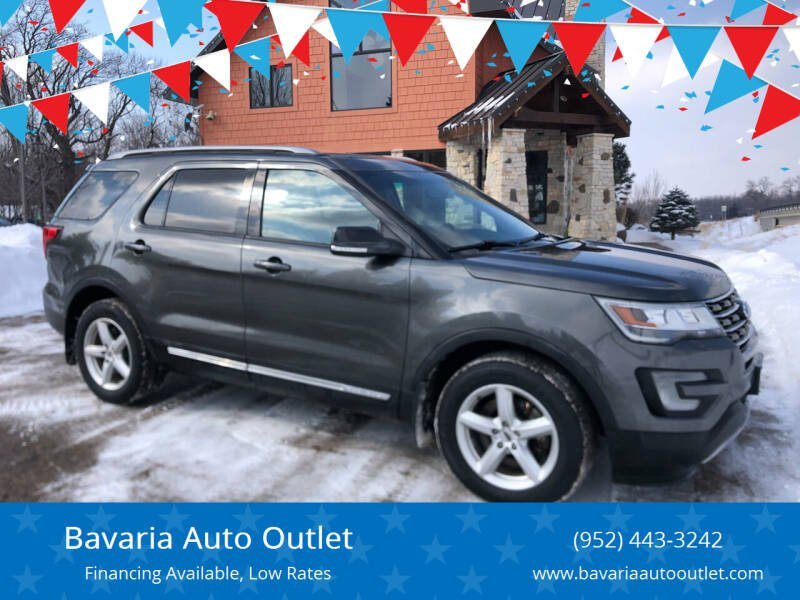 2016 Ford Explorer for sale at Bavaria Auto Outlet in Victoria MN
