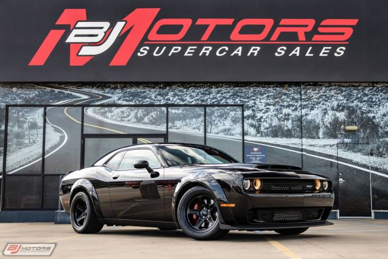 2018 Dodge Challenger for sale at BJ Motors in Tomball TX