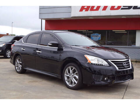 2015 Nissan Sentra for sale at Sand Springs Auto Source in Sand Springs OK
