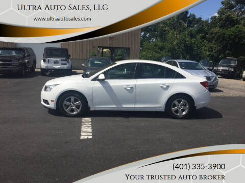 2013 Chevrolet Cruze for sale at Ultra Auto Sales, LLC in Cumberland RI
