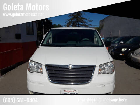 2008 Chrysler Town and Country for sale at Goleta Motors in Goleta CA