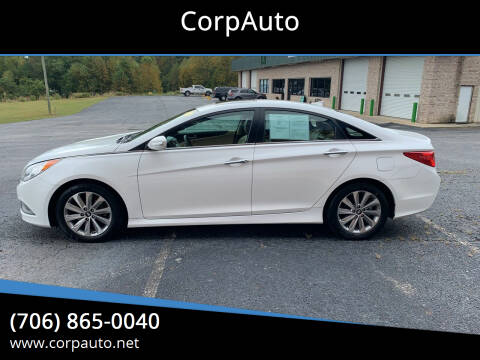 2014 Hyundai Sonata for sale at CorpAuto in Cleveland GA
