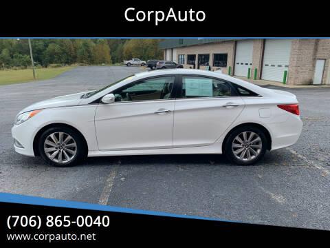 2014 Hyundai Sonata for sale at CorpAuto in Cleveland GA