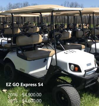 2016 E-Z-GO Express S4 for sale at Jim's Golf Cars & Utility Vehicles in Reedsville WI