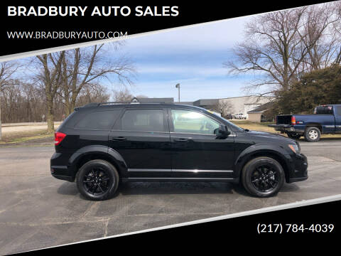 2019 Dodge Journey for sale at BRADBURY AUTO SALES in Gibson City IL