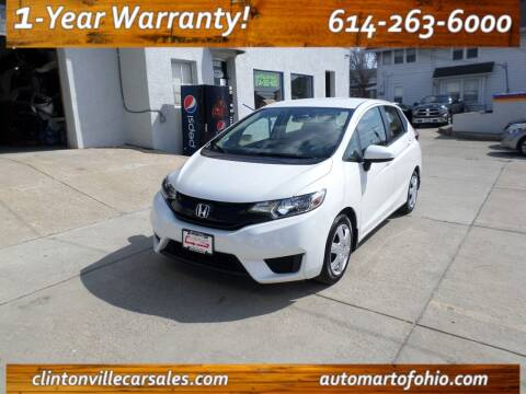 2016 Honda Fit for sale at Clintonville Car Sales in Columbus OH