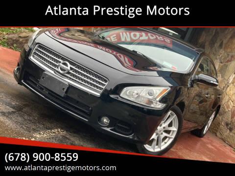 2011 Nissan Maxima for sale at Atlanta Prestige Motors in Decatur GA