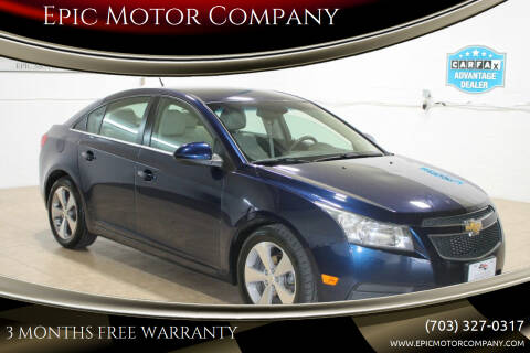 2011 Chevrolet Cruze for sale at Epic Motor Company in Chantilly VA