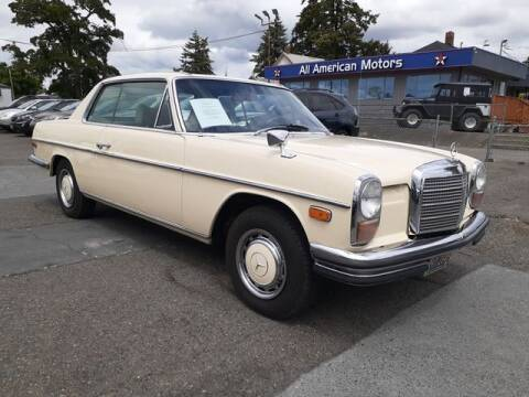 1972 Mercedes-Benz C-Class for sale at All American Motors in Tacoma WA